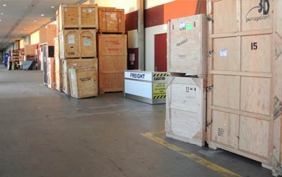 Do you need to move show freight to or from Canada?