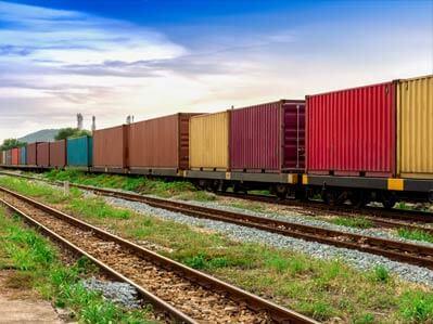 Transport ferroviaire Canada USA