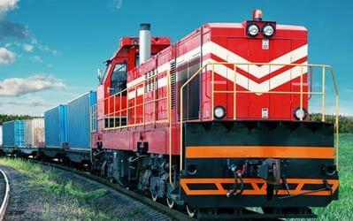 voie ferrée pour transporter vos produits commerciaux Canada Mexique